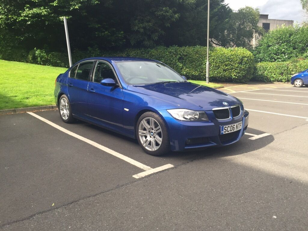 bmw 320d m sport 2006 in kinross perth and kinross gumtree. Black Bedroom Furniture Sets. Home Design Ideas
