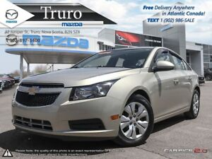 2014 Chevrolet Cruze $49/WK TAX IN! LT! AUTO! CRUISE! A/C! ONE O