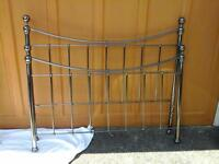 Black nickle metal bed frame