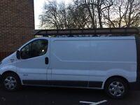 Van for hire!
