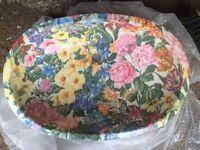 Unique Floral Pattern Countersunk Basin