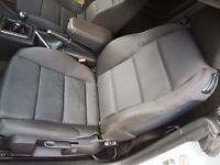 Audi A4 S line Convertible Cabriolet Recaro Inflatable Adjustable Seats with Airbags