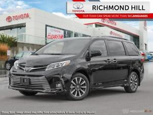 2019 Toyota Sienna Limited Package  - $193.42 /Wk