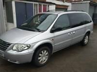 Chrysler grand voyager automatic 7 seater