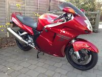 Honda Blackbird CBR1100xx, 1998, Candy Red - excellent condition for age.