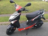 Lexmoto Echo 50cc Scooter BRAND NEW unwanted present/gift