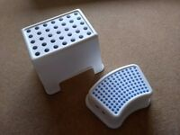 Two ikea step stools - good condition