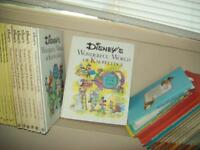 1980's Disney's wonderful world of Knowledge set of 7