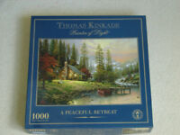 VARIOUS JIGSAW PUZZLES - 500 AND 1000 PIECES