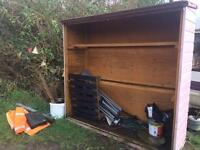 Shed/stall - for veg/ flowers