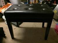 Adjustable piano stool