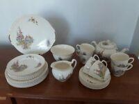 Tea set -Johnson Brothers vintage Old English design