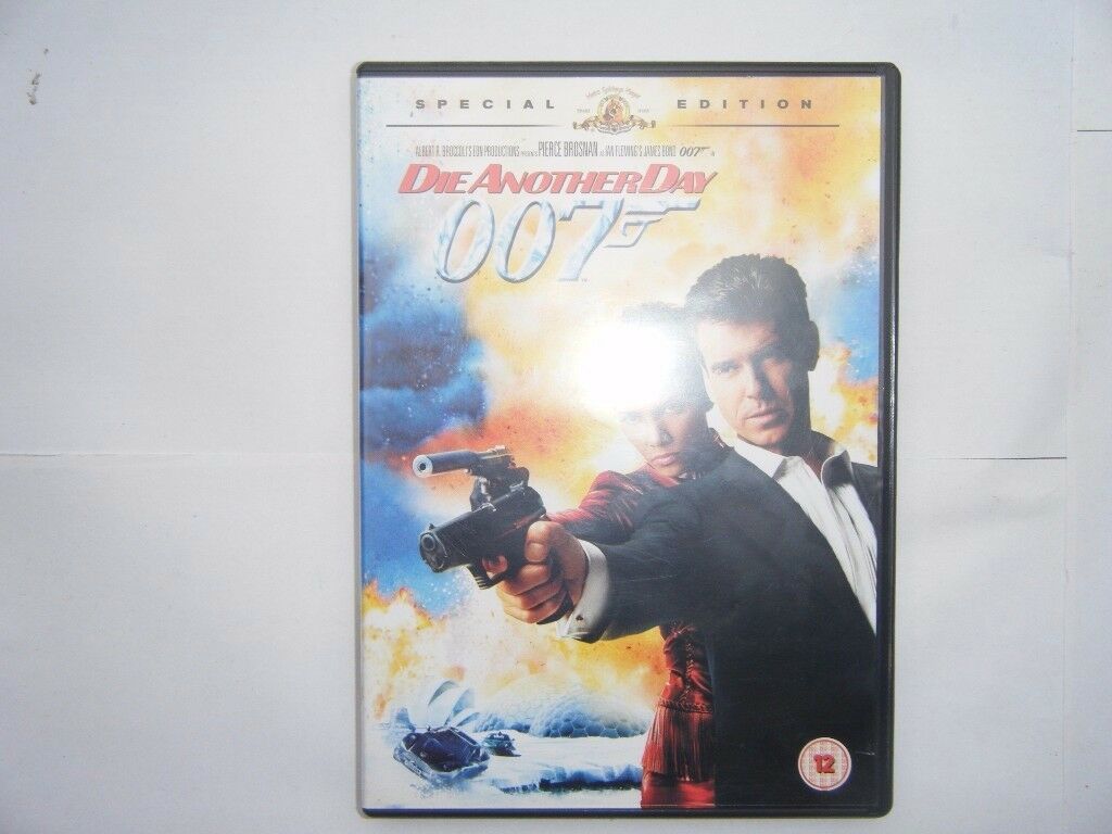 Die another day. DVD . Used
