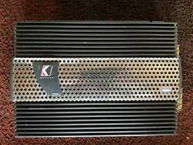 Kicker impulse IX404 4 channel amplifier.