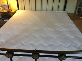 WATER BED MATTRESS FOR SALE - KING SIZE SOFT SIDES GOOD CONDITION