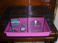 HAMSTER CAGE & ACCESSOORIES