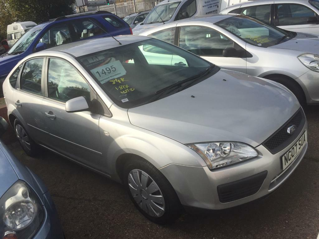 Ford Focus 1.8 lx 2007 low miles