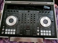 PIONEER DDJ SX 2 WITH SWAN FLIGHT CASE - MINT CONDITION BOXED