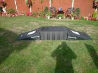 Heavy duty skateboard/rollerblade ramps and platform ex condition