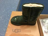 UGG Australia classic short boots Sparkles with free kit