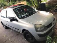 Renault Clio 1.2 Expression 16v 2004, 1 Years MOT, Lady Owner, Cambelt changed
