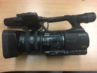 Sony HVR-Z5 HDV Camcorder, including accessories & bag.