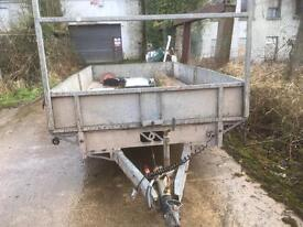 16 ft twin axle trailor