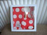 Cath Kidston Baking Set - New, Ideal Xmas Present