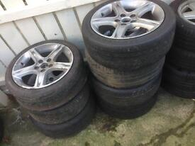 "17"" Lexus IS200 Sport Diffing Alloys 5x114.3"