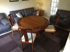 Lovely Table and 6 Chairs for sale - £150