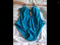 Turquoise Swimsuit Size 14