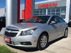 2011 Chevrolet Cruze LS+ w/1SB, AUTO, AC, POWER GROUP