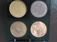 Palette of 4 eyeshadows