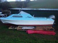 17ft shetland fishing boat