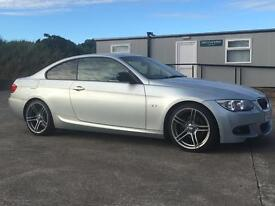 2012 BMW 320d M Sport Coupe **70K MILES** Plus Edition SAT NAV HEATED LEATHER