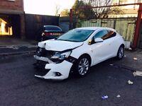 2014 Vauxhall Astra GTC 1.4i Turbo 16v Sport Salvage Damaged Repairable vxr