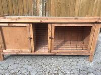 Rabbit hutch brand new assembled