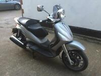 FULLY WORKING 2003 Piaggio Beverly 500cc 500 cc Scooter with Mot.