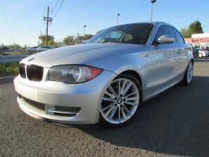 2009 BMW 128I i MAN. BLUETOOTH CRUISE TOIT OUVRANT!!!