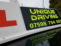 UNIQUE DRIVING SCHOOL DRIVING LESSONS. INSTRUCTORS WANTED