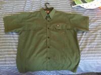 Diesel button up short sleeved shirt