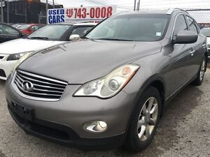 2008 Infiniti EX,leather heated seats,sunroof,alloy rims,AWD,