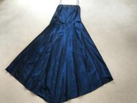 Monsoon dress midnight blue size 12