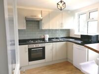 Newly refurbish 2 bedroom flat with back Garden.