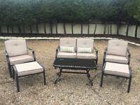Alberta 6 piece garden furniture set