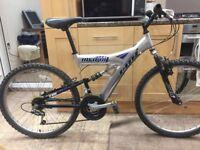 "Claud Butler Java 18 bike. 18"" frame. 26"" wheels. Fully working"
