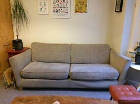 *SOLD* Comfy 4 seater sofa