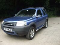 FREELANDER TD4 2 DOOR BMW ENGINE 12 MONTH MOT FSH