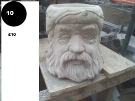 old father time / wizard planter ornament