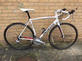 Specialized Allez Road Bike 56Cm Large White - Red